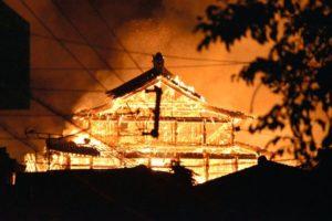 首里城の火事の原因は?被害状況とネットの反応まとめ